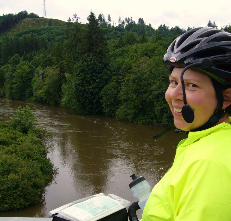 Cristy at Chehalis River