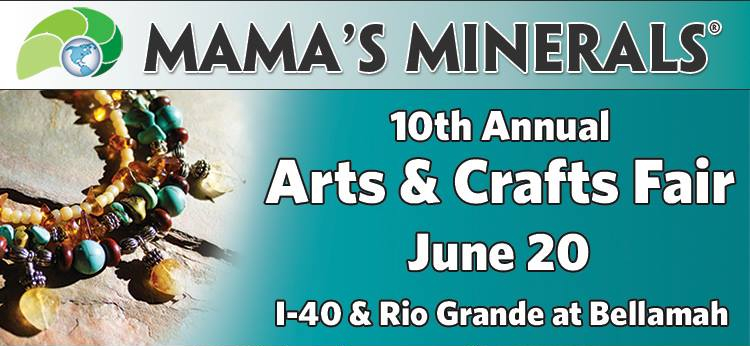 10th Annual Mama's Minerals Arts and Crafts Fair