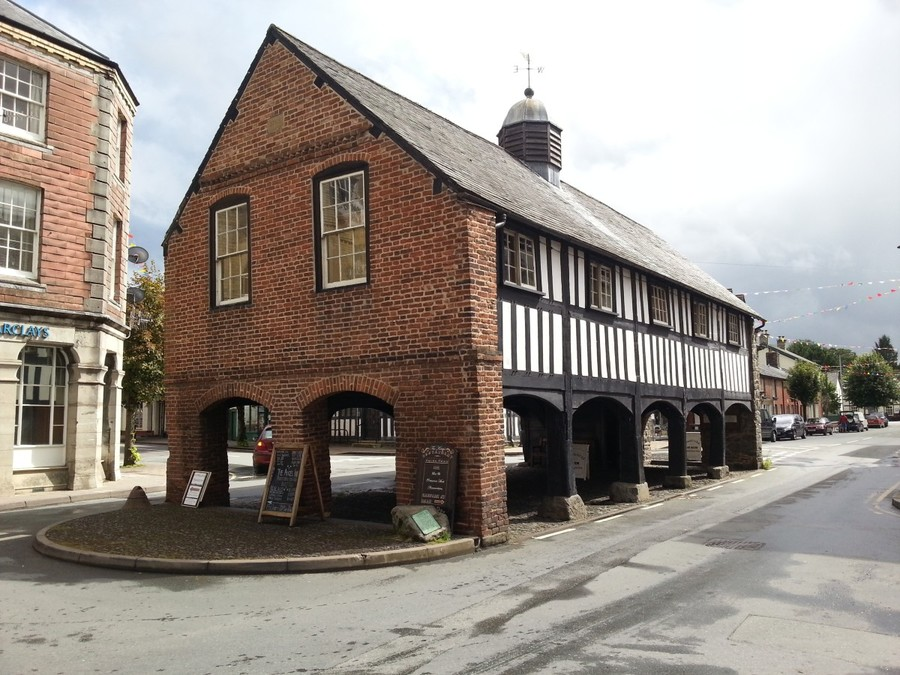Market Hall in Llanidloes