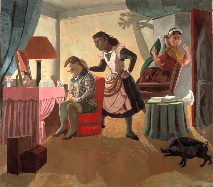 Paula Rego - The Maids