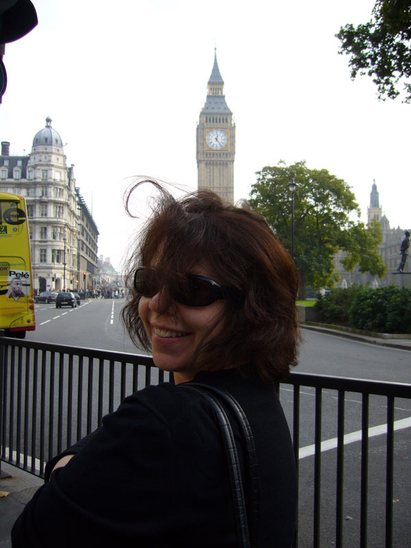 Cristy with Big Ben