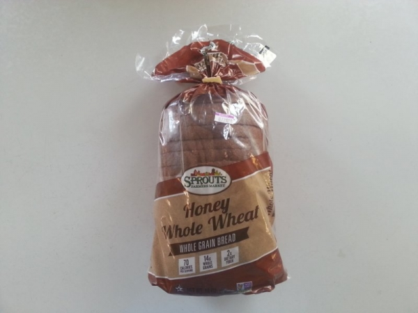 Sprouts Farmers Market Honey Whole Wheat