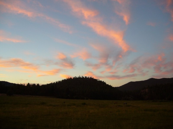 Sunrise, Vallecitos, NM